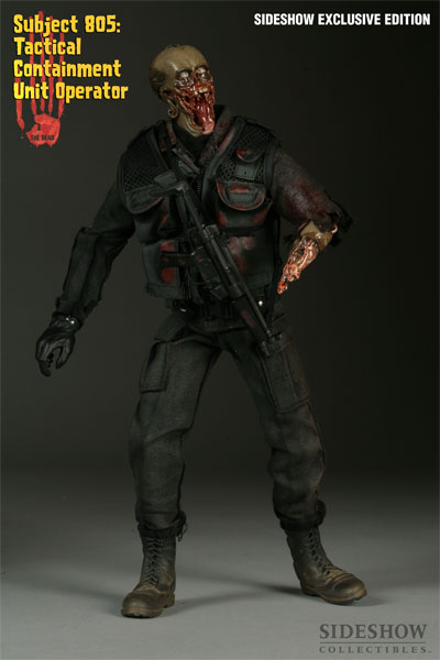 The Dead - Subject 805: Tactical Unit Operator - Spooktacular Ed