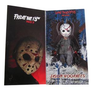 "10"" Living Dead Dolls Presents Jason Part 3 Living Dead Doll"