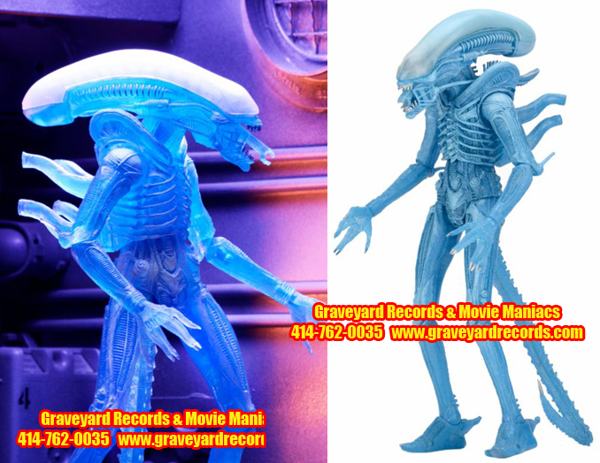 "8"" Alien Series 11 Warrior Alien - Kenner Style"