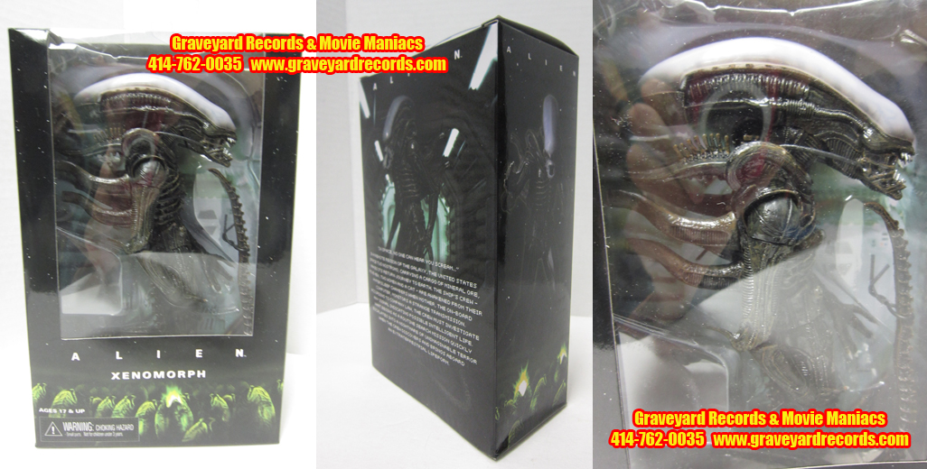 "8"" Alien 1979 Big Chap Xenomorph Window Box Ed."