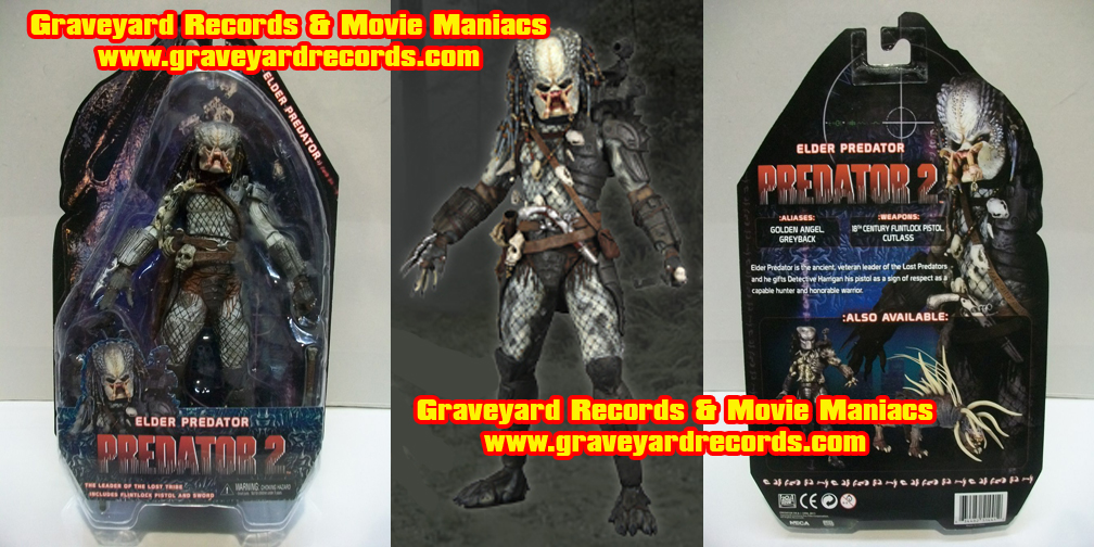 "8"" Neca Toys Predator 2010 Series 3 - The Elder Predator"