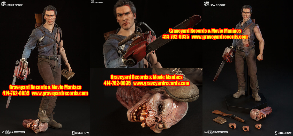 "12"" Ash Williams - Ash Sixth Scale Figure by Sideshow Toys"