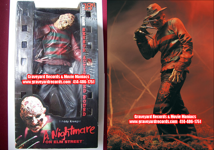 "18"" Freddy Krueger - McFarlane Toys ** Sealed **"