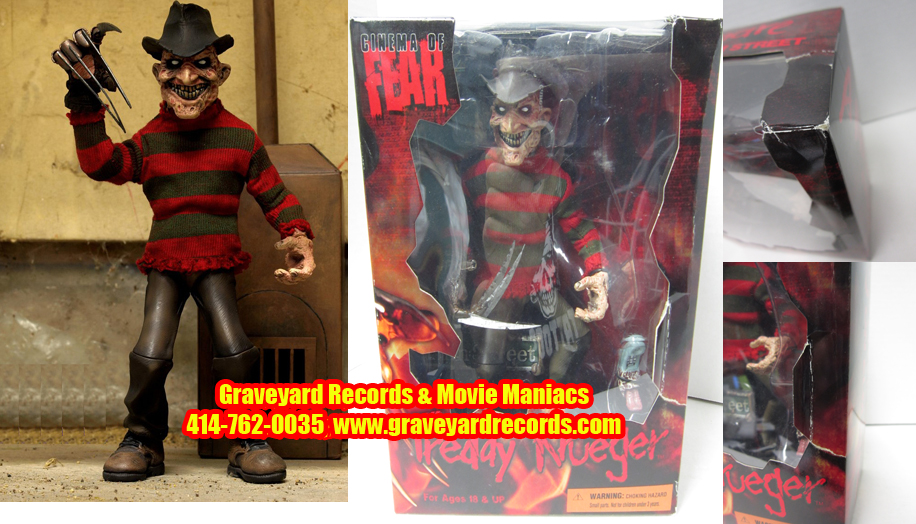 "10"" Nightmare on Elm Street Stylized Freddy Krueger Figure"