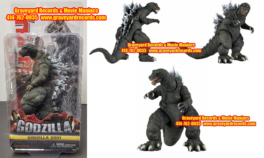 "12"" Godzilla 2001  (Giant Monsters All-Out Attack)"