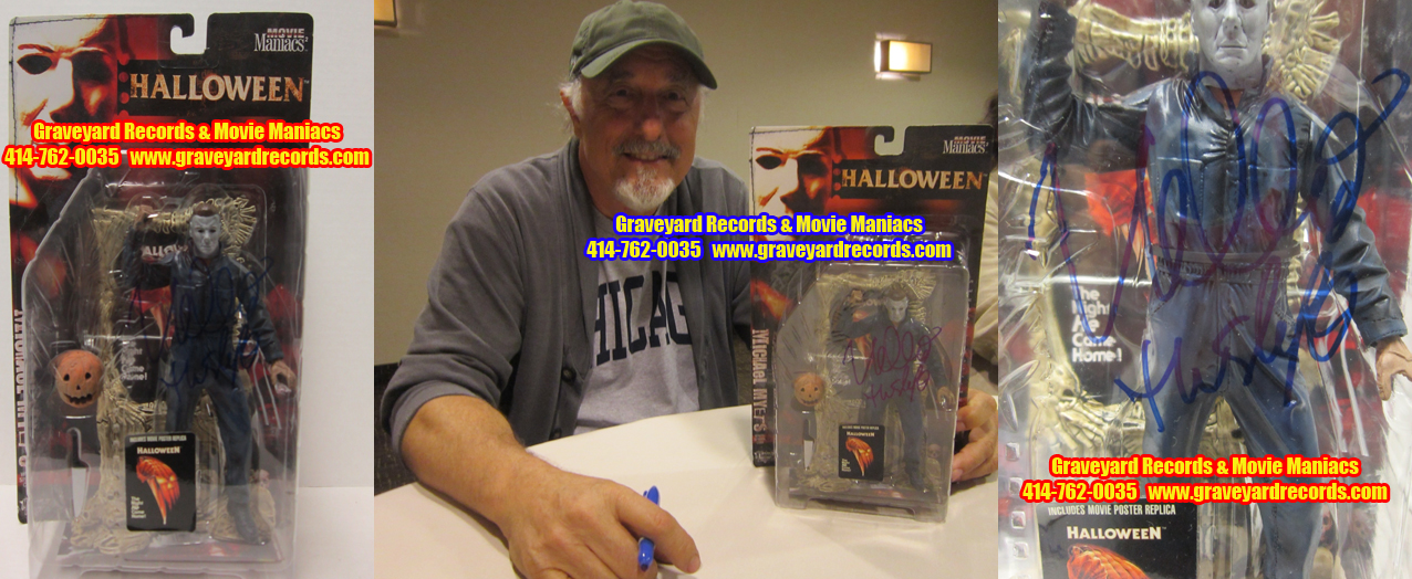 "8"" Halloween MM 2: Michael Myers - Signed By Nick Castle"