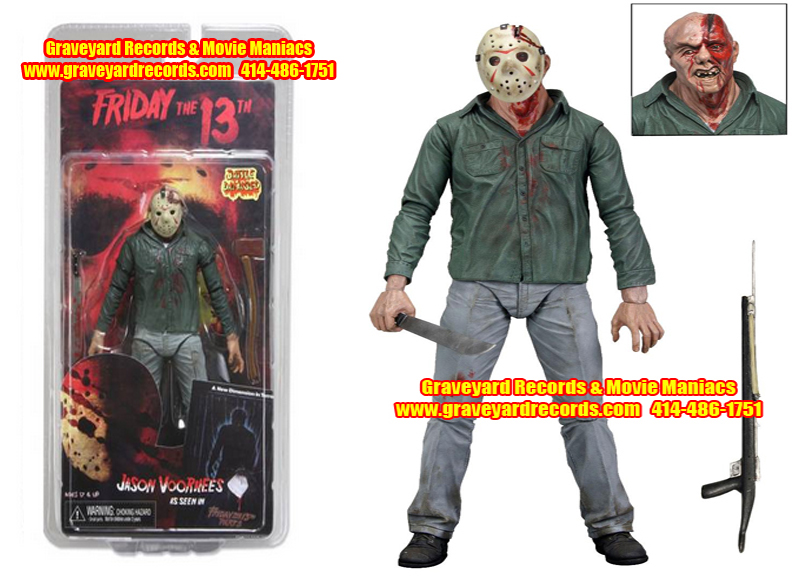 "8"" Series 1 Jason Part 3 Bloody Version Neca Toys"
