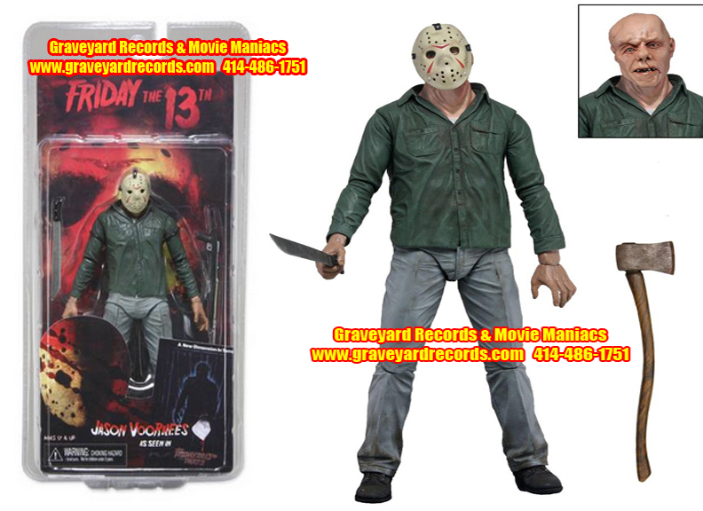 "8"" Series 1 Jason Part 3 Clean Version Neca Toys"