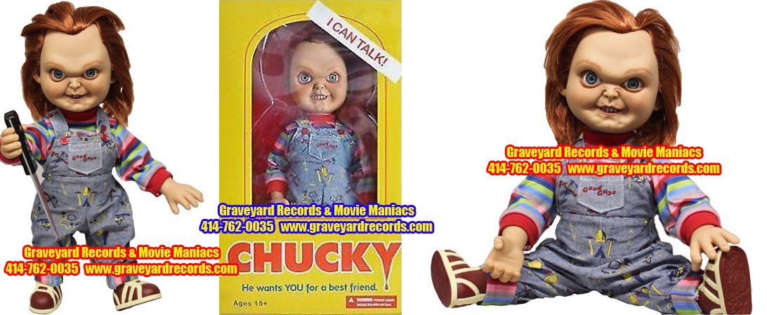 "15"" Chucky Talking (Good Guy Chucky) Mezco Toys"