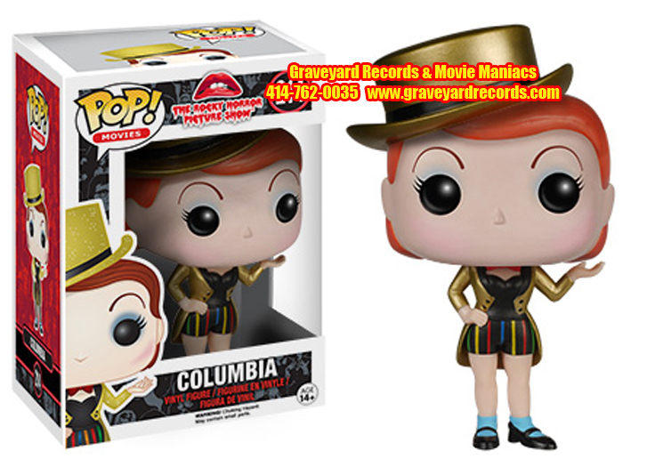 Rocky Horror Picture Show -  Columbia Pop Figure