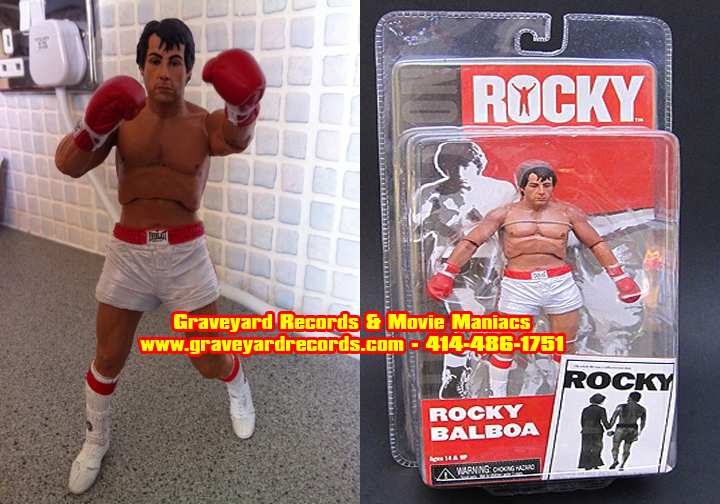 "8"" Rocky Series 1 Rocky Pre-Fight"