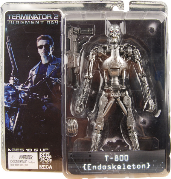 Terminator 2 Judgment Day T2 T-800 Endo skeleton Figure
