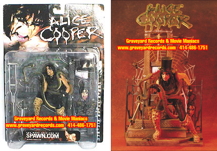 "8"" Alice Cooper - Welcome To Your Nightmare Figure - Sealed"