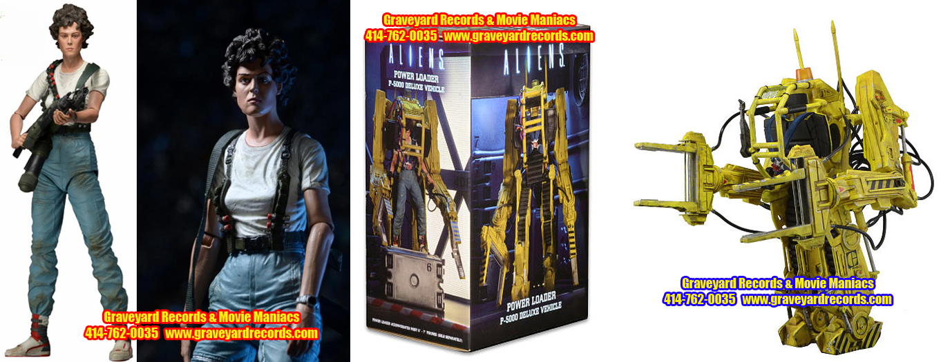 "12"" Aliens - Deluxe Vehicle - Power Loader P-5000 W/ Ripley Figu"