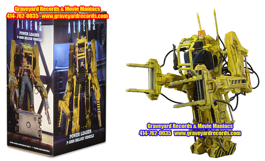 "12"" Aliens - Deluxe Vehicle - Power Loader P-5000"