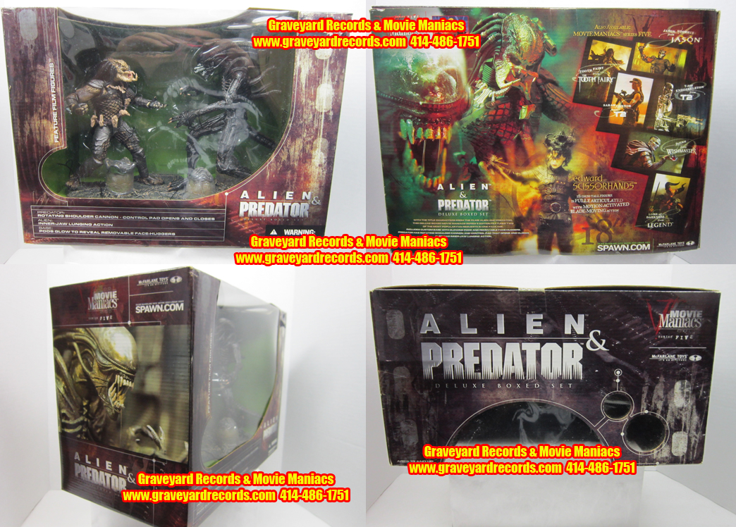 "8"" McFarlane Toys Alien Vs Predator Box Set"