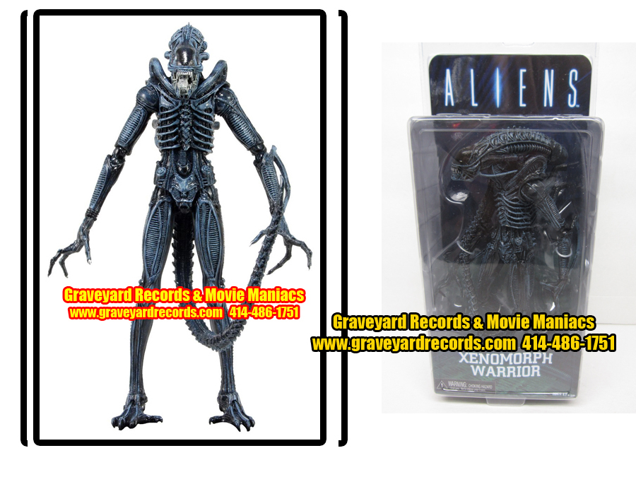 "8"" Aliens Series 2 Xenomorph Warrior Alien"