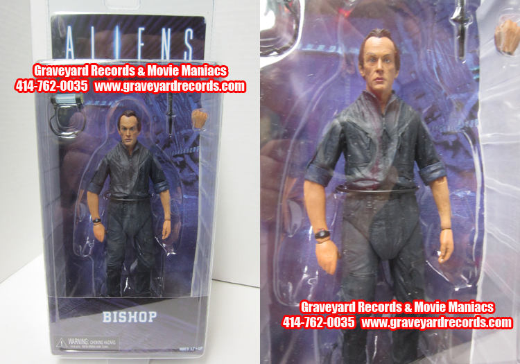 "8"" Aliens Series 3 1986 Android Bishop Figure"