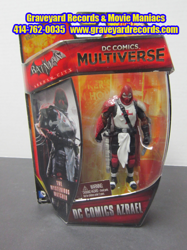 "4"" Batman Arkham City - Azrael DC Comics Multiverse"