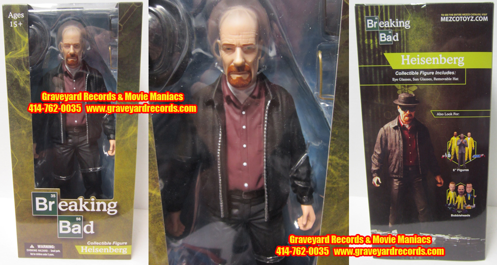 "12"" Breaking Bad - Heisenberg Action Figure"