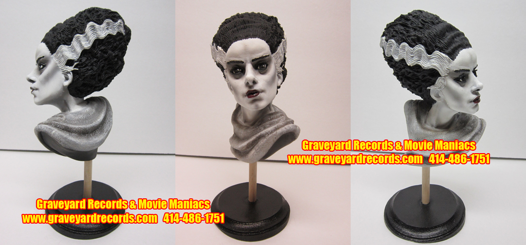 Bride of Frankenstein - Mini Bust