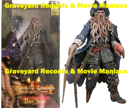 "12"" POTC Dead Man's Chest Davy Jones Action Figure w/ Sound"
