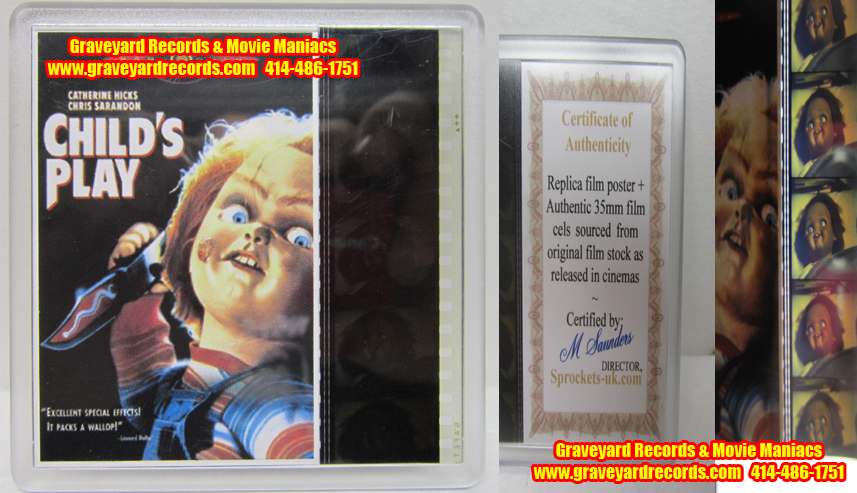 Childs Play Film Strip