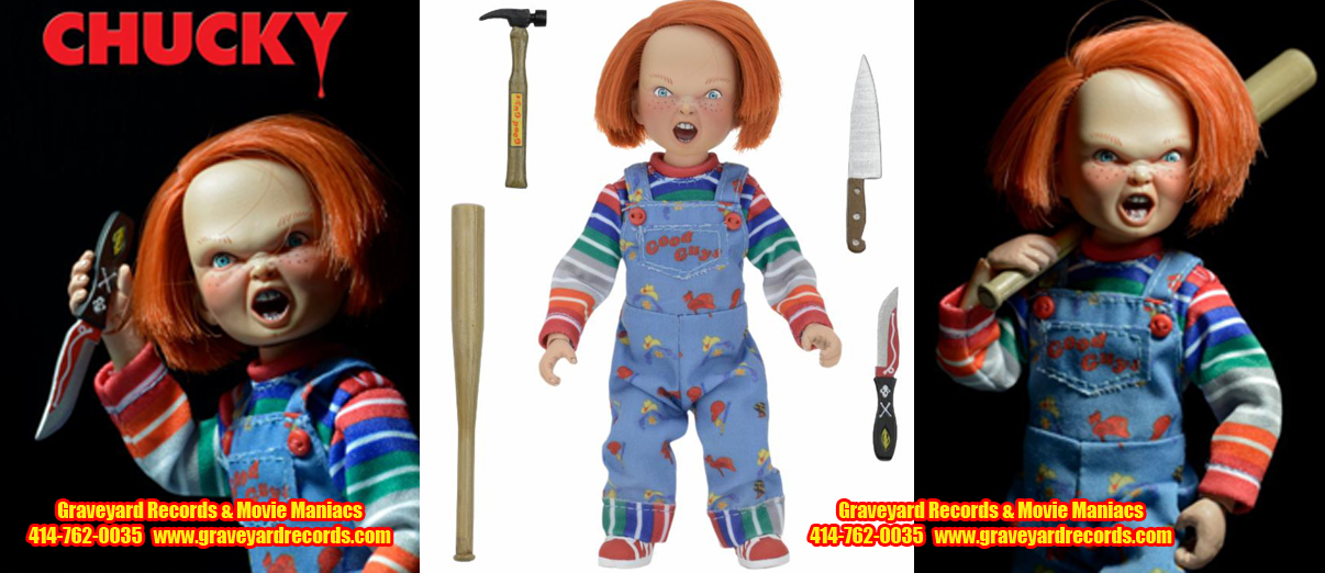 "6"" Childs Play Chucky Retro Style Figure"