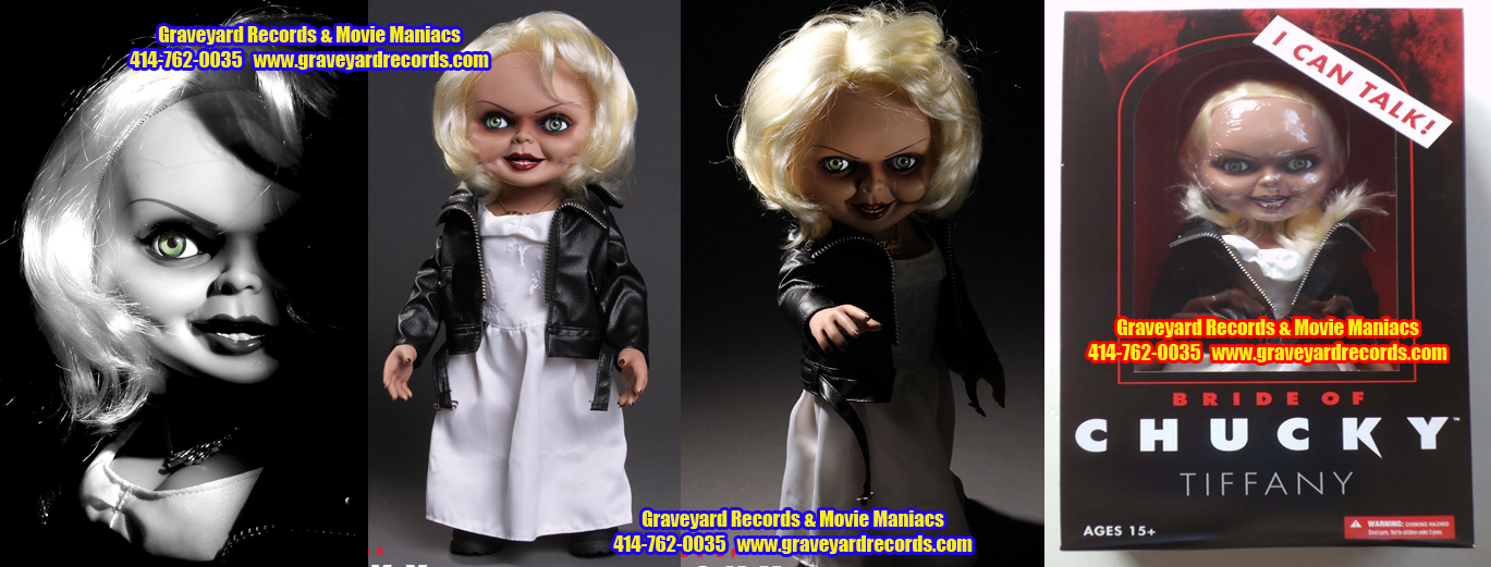 "15"" Tiffany from ( Bride of Chucky ) Mezco Toys"