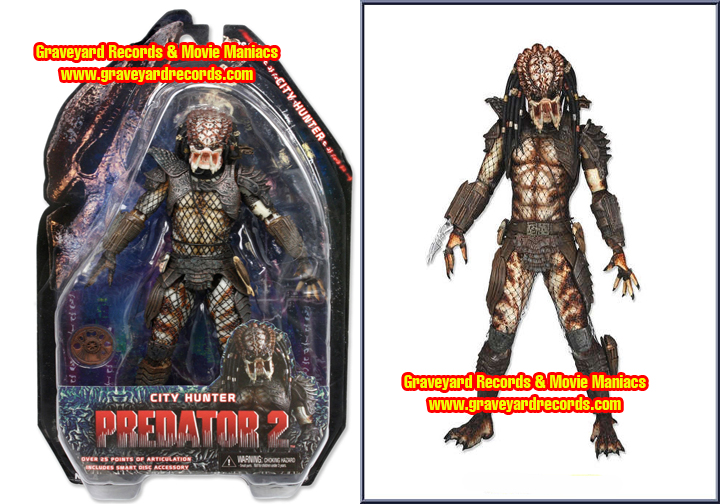 "8"" Neca Toys Predator Series 4 Predator 2 - City Hunter Predator"