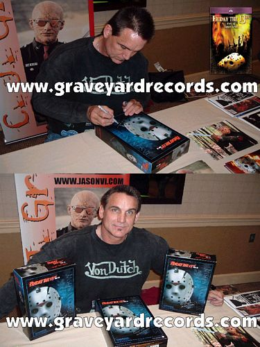 "12"" Autographed -- Friday the 13th pt 6 - CJ Graham"