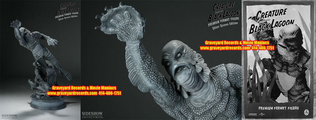 1/4 Silver Screen Creature from the Black Lagoon Premium Format