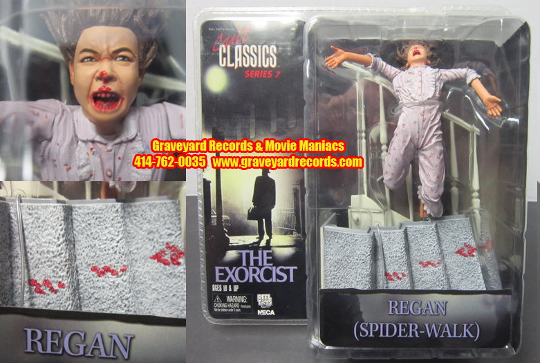 CC Series 7 Spider-Walk - Bloody Regan, from The Exorcist