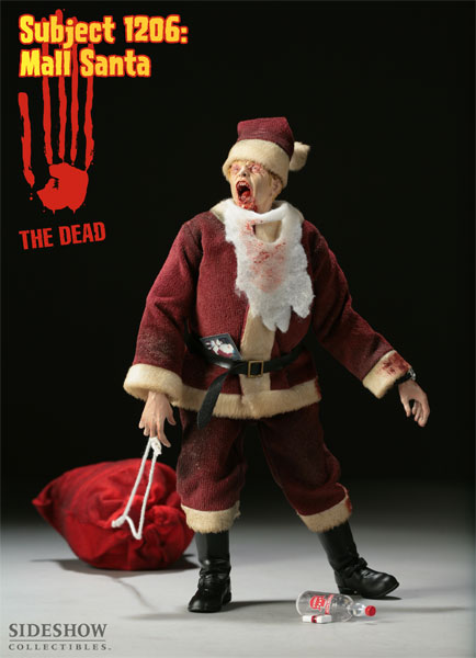 The Dead - Subject 1206: Mall Santa
