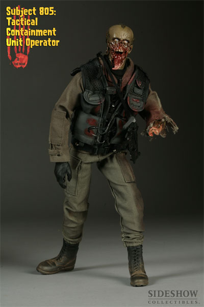 The Dead - Subject 805: Tactical Containment Unit Operator