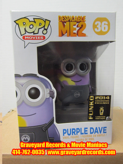 Despicable Me 2 - Purple Dave Con. Exclusive