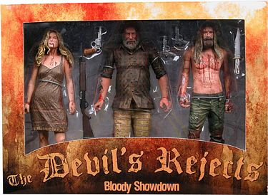 "8"" Devil's Rejects ""The Bloody Show Down"" 3-Figure Box Set"