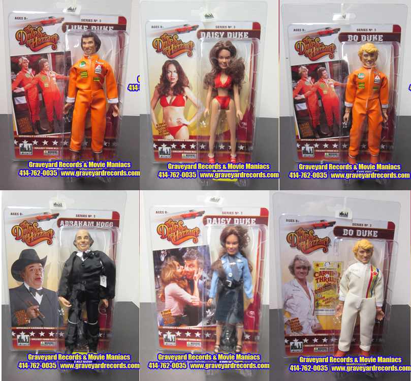 The Dukes Of Hazzard Series 3 Set - 6 Figures Exclusive