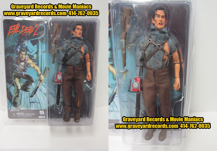 "8"" Hero Ash from Evil Dead 2 Retro Style Figure"