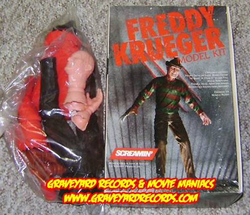 "11"" Screamin Freddy Kruger Model Kit"
