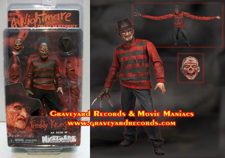 "8"" Series 1 Freddy - Nightmare On Elm Street 1 - Neca"