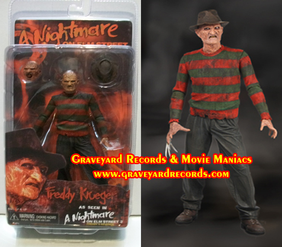 "8"" Series 1 Freddy - Nightmare On Elm Street 2 Freddys Revenge -"