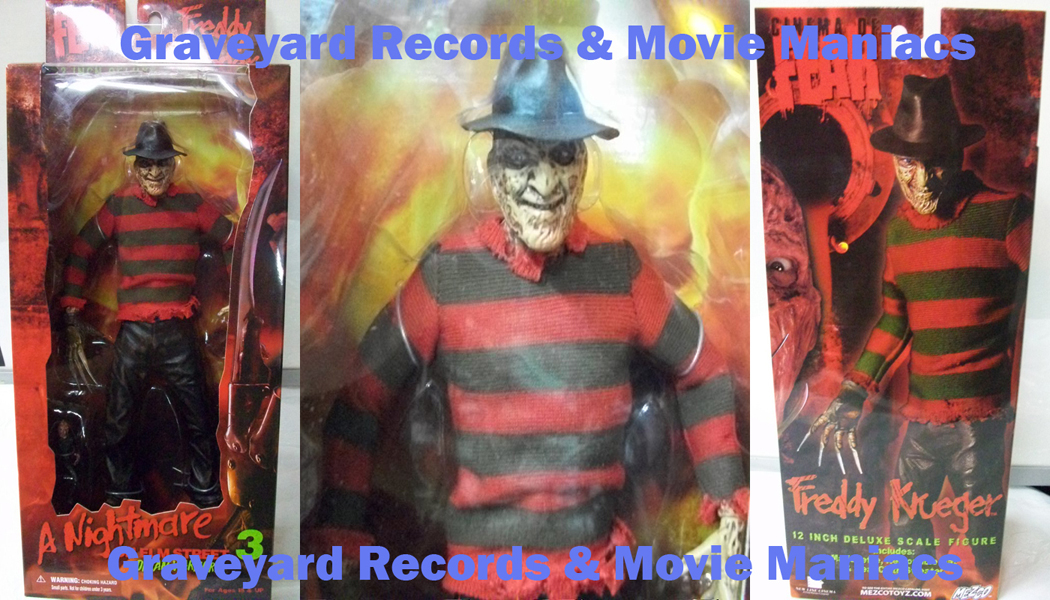 "12"" Nightmare On Elm Street Freddy Deluxe"