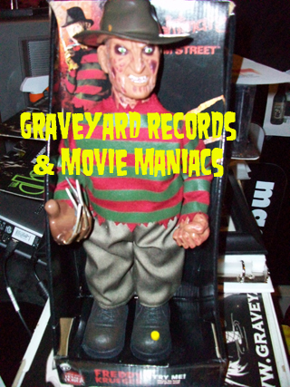 "12"" Animated Freddy - A Nightmare On Elm Street"