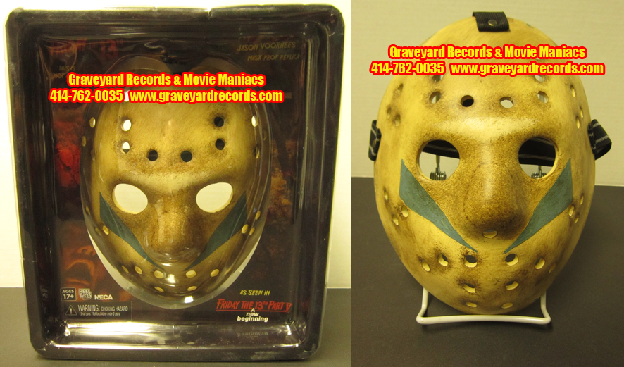 Friday the 13th Part V 5 Jason Voorhees New Beginning Replica