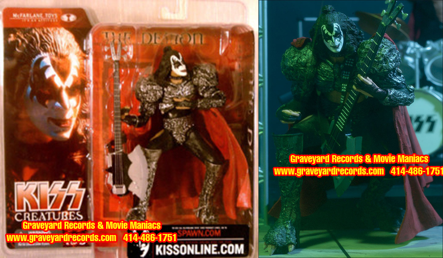 "8"" Kiss Creatures Of The Night Gene Simmons"