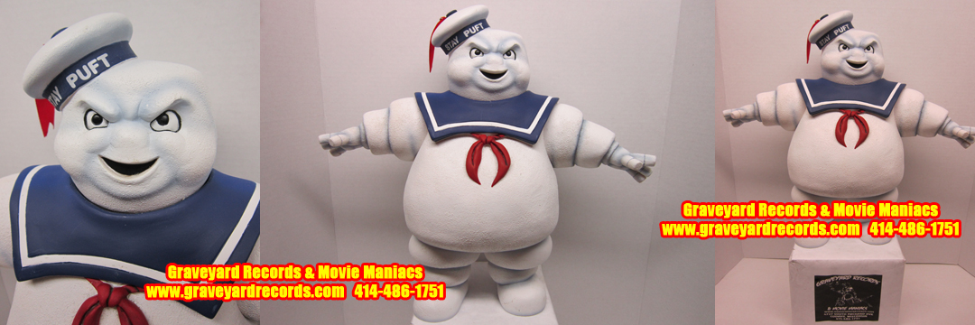 "15"" Ghostbusters - Stay Puff Marshmallow Man Figure"