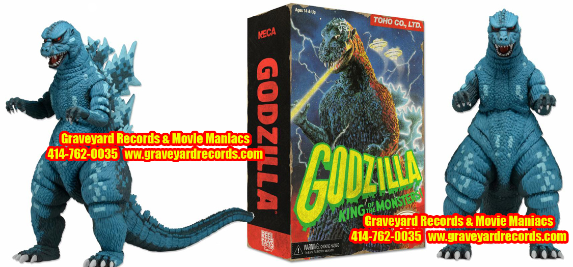 "12"" Godzilla Action Figure (Classic Video Game Appearance)"