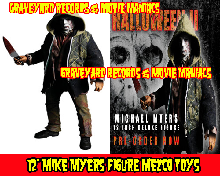 "12"" Michael Myers Cinema Of Fear - Halloween II Rob Zombie"