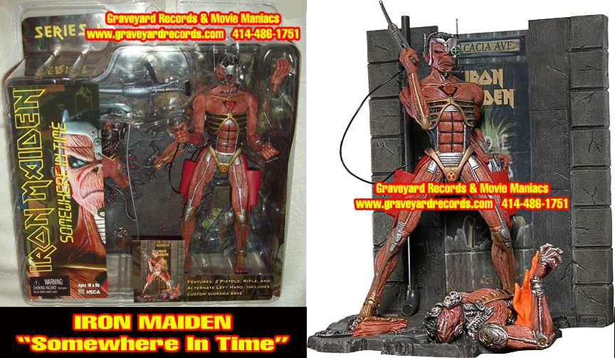 "8"" Iron Maiden Eddie ""Somwhere in Time"""